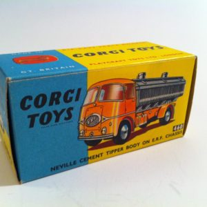 Corgi 460 Neville Cement Tipper body on ERF chassis