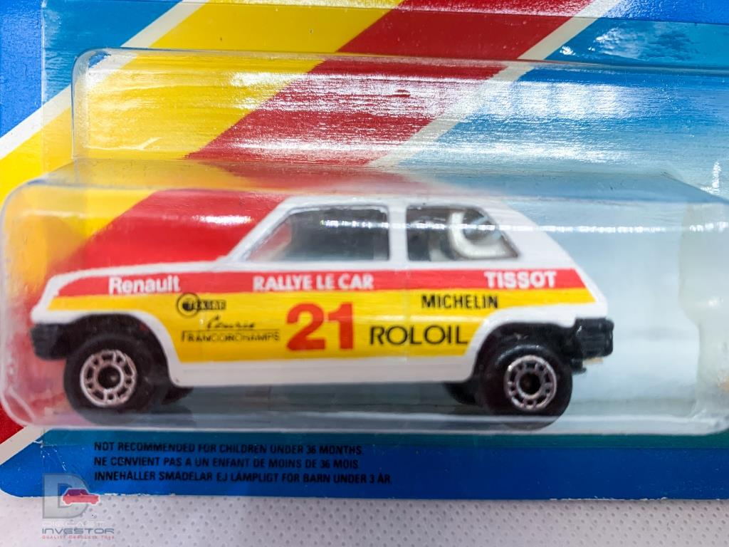 Matchbox Twin Pack TP-106 - 21c Renault 5TL Rally Car